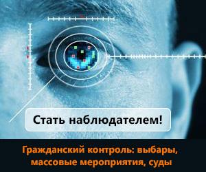 Видеокурс - Общественный контроль: выборы, массовые мероприятия, суды