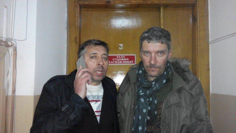 Блогеры  Сяргей Пятрухін і Дзьмітрый Гарбуноў