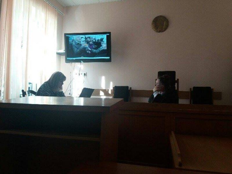 Старшыня суда Гомельскага раена Кавалевіч