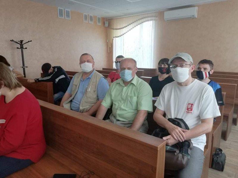 Виктор Сазонов, Роман Юргель и Владимир Хильманович