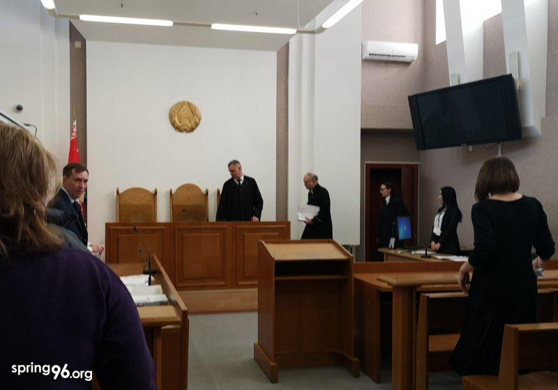 На судебном заседании по делу Никиты Емельянова и Ивана Комара