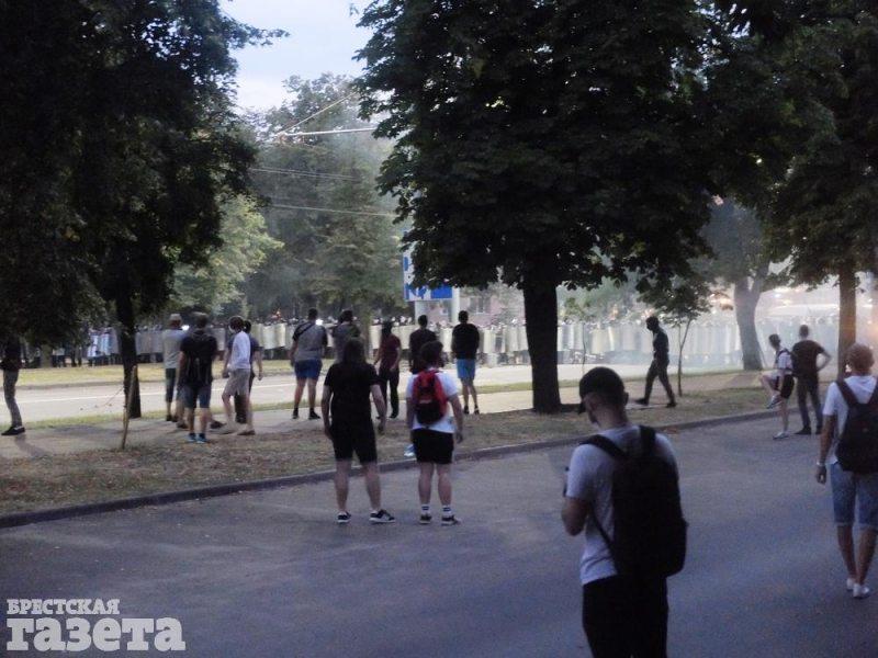 Брест 10 августа. Фото: