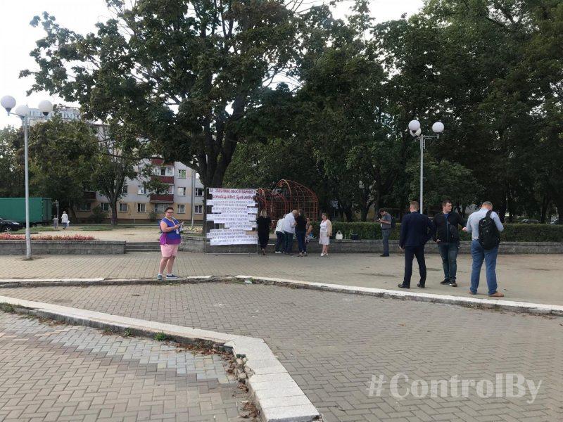 Мирное собрание, посвященное изменению ст. 328 Уголовного Кодекса Республики Беларусь.