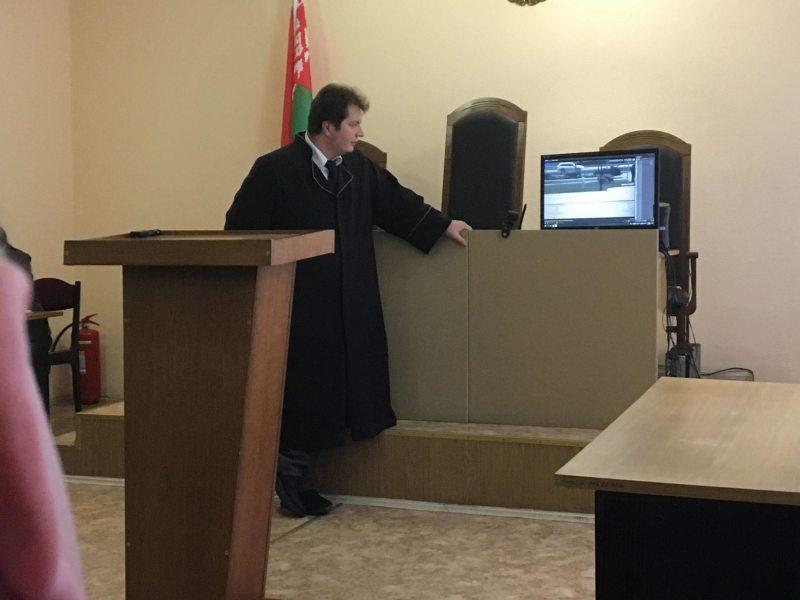 Судья Руслан Царук. Фото: ПЦ