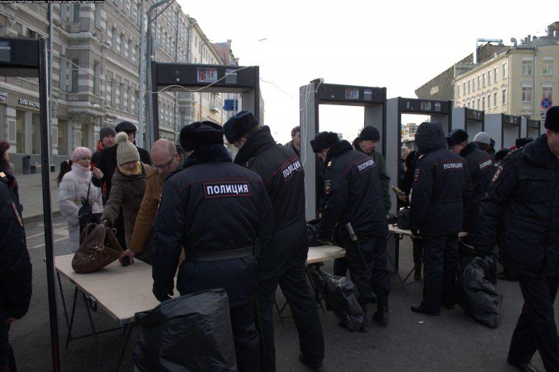 Уваход на марш памяци Барыса Нямцова