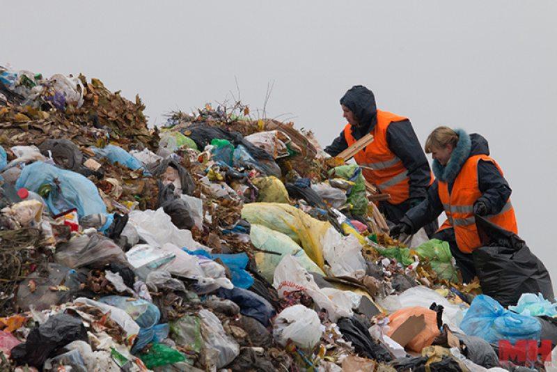 Одним из способов отработки для обязанных лиц стала сортировка отходов на полигоне «Тростенецкий» - «Минск-Новости»
