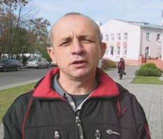 Праваабаронца, сябра БХК Віктар Адзіночанка