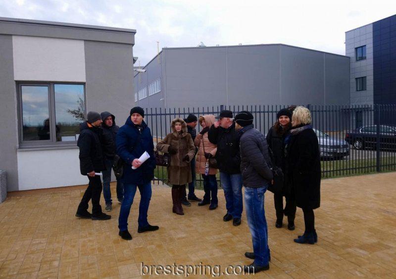 Прэс-тур на прадпрыемстве Айпауэр. Фота: brestspring.com