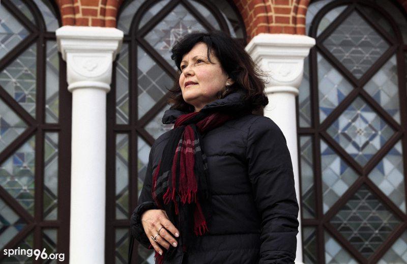 Alena Masliukova, Viasna's activist in Svietlahorsk