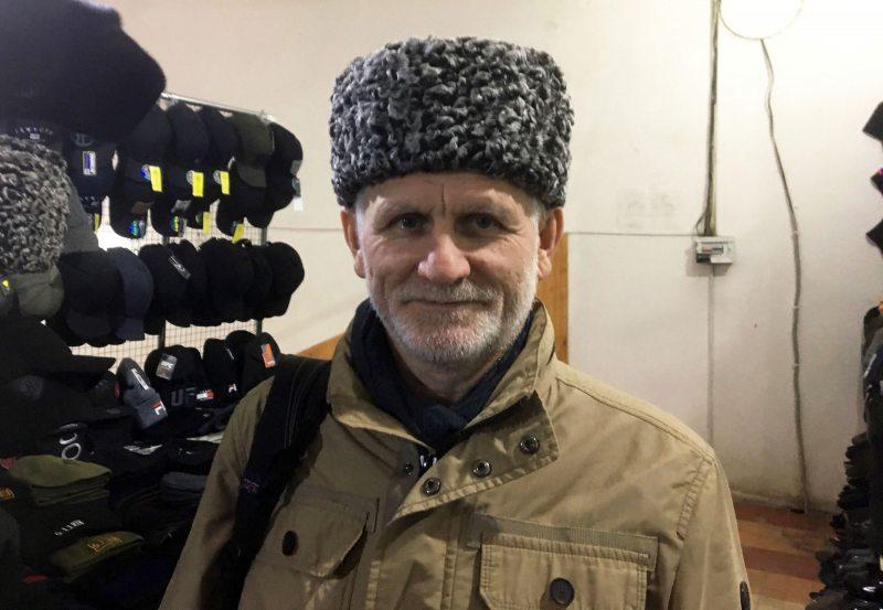 Алесь Бяляцкі ў Грозным