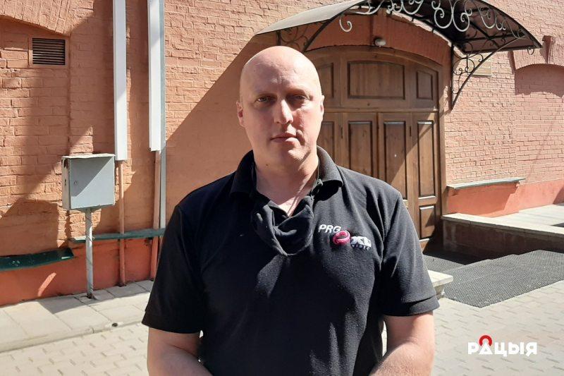 Аляксандр Іллінец. Фота: Беларускае Радыё Рацыя