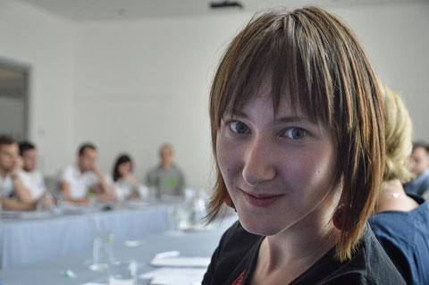 Аліна Нагорная, фота з асабістай старонкі ў Фэйсбуку