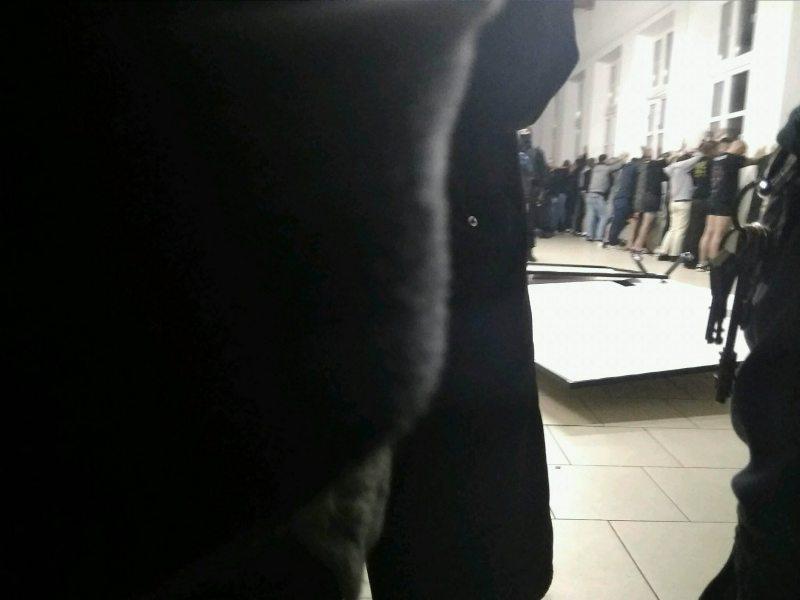 Затрыманыя падчас канцэрту 14 кастрычніка ў Партызанскім РУУС. Фота Ірыны Арахоўскай