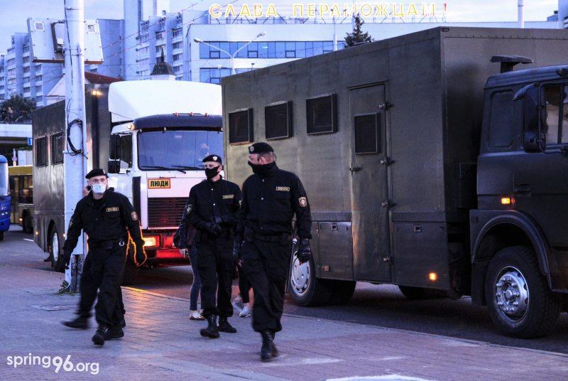 Минск, 14 июля. Фото: spring96.org