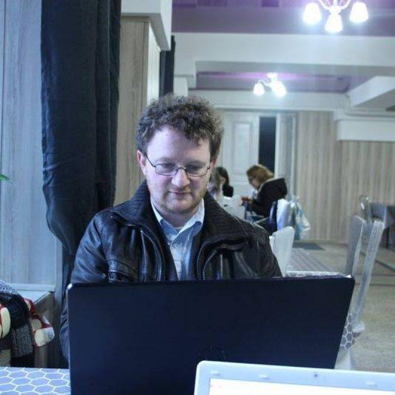 Нямецкі выкладчыкАндрэ Бём. Фота з «Фэйсбуку» навукоўца
