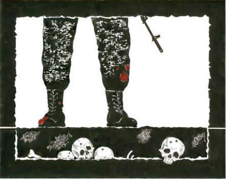 Пяты аргумент супраць смяротнага пакарання забойствы палітычных апанентаў і масавыя расстрэлы.