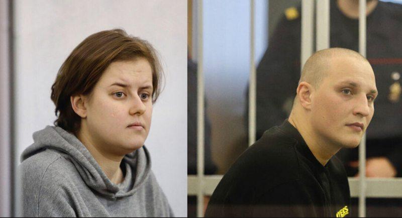 Марыя Бабовіч і Максім Паўлюшчык. Калаж з фота