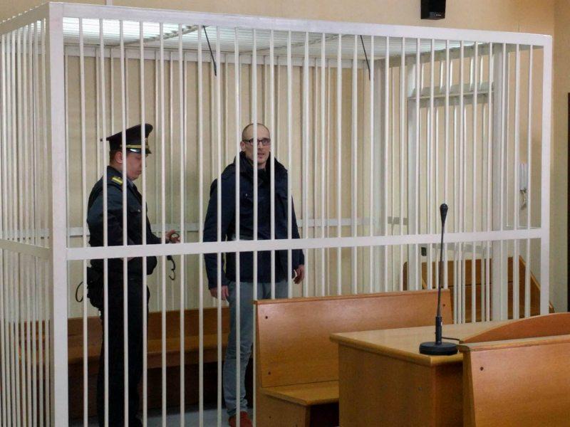 Святослав Баранович в зале суда