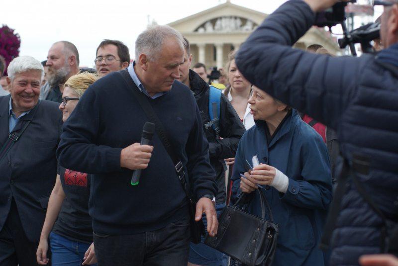 Акцыя «За мірную Беларусь» 3 ліпеня 2017 года ў Мінску