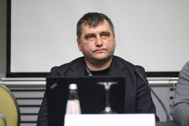 Андрэй Бастунец, старшыня Беларускай асацыяцыі журналістаў