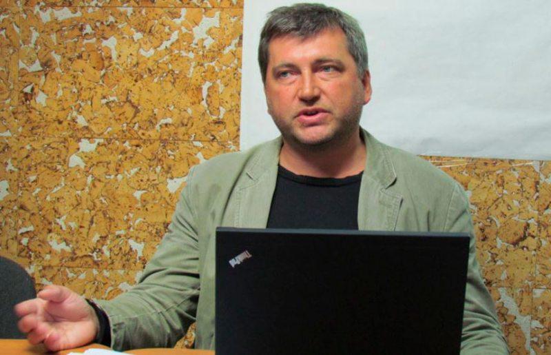 Старшыня БАЖ Андрэй Бастунец. Фота baj.by