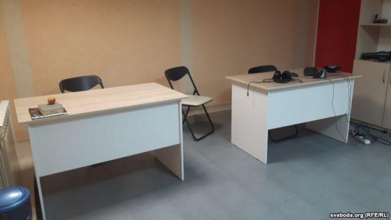 Пасля ператрусу ў офісе БелСату 31 сакавіка.