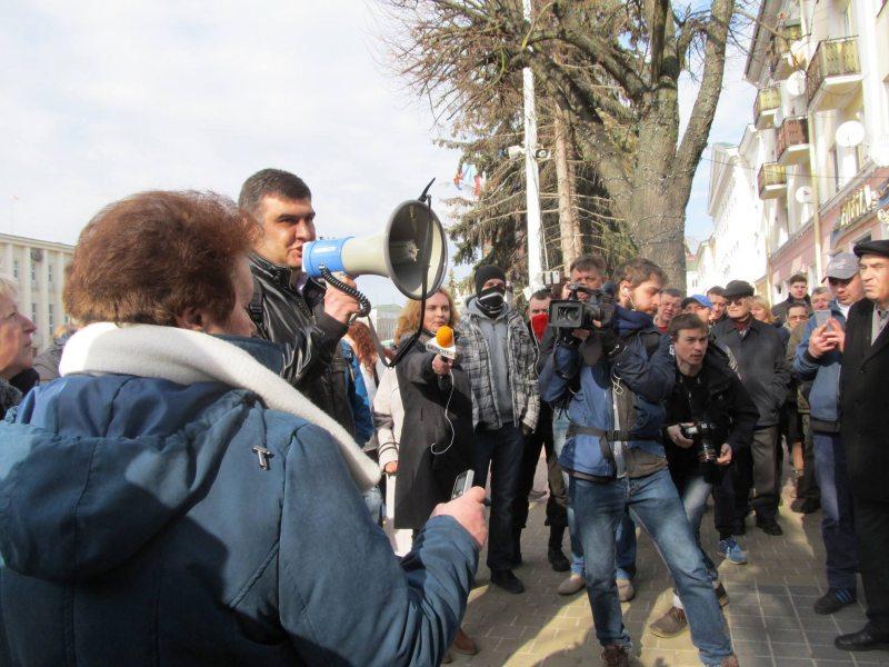 Марш недармаедаў у Берасці. Фота: ПЦ