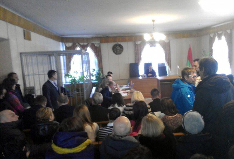 В суде Московского района Бреста во время рассмотрения иска против строительства предприятием