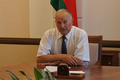 Валерий Берестов, руководитель Могилевской областной комиссии по выборам в парламент
