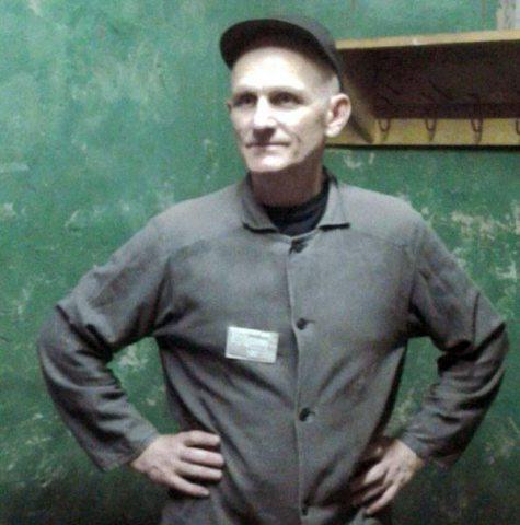 Алесь Бяляцкі ў зняволенні.
