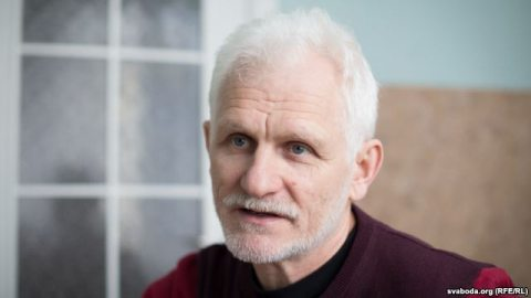 Ales Bialiatski. Photo: svaboda.org