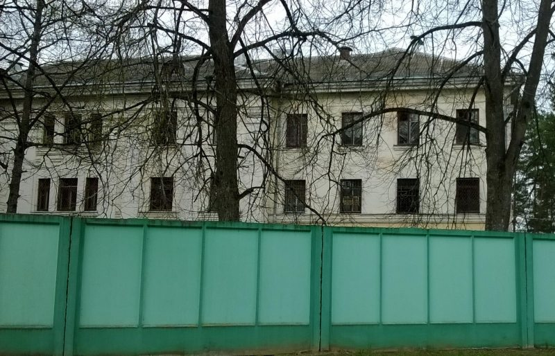 Tuberculosis hospital in Bahušeŭsk, Viciebsk region