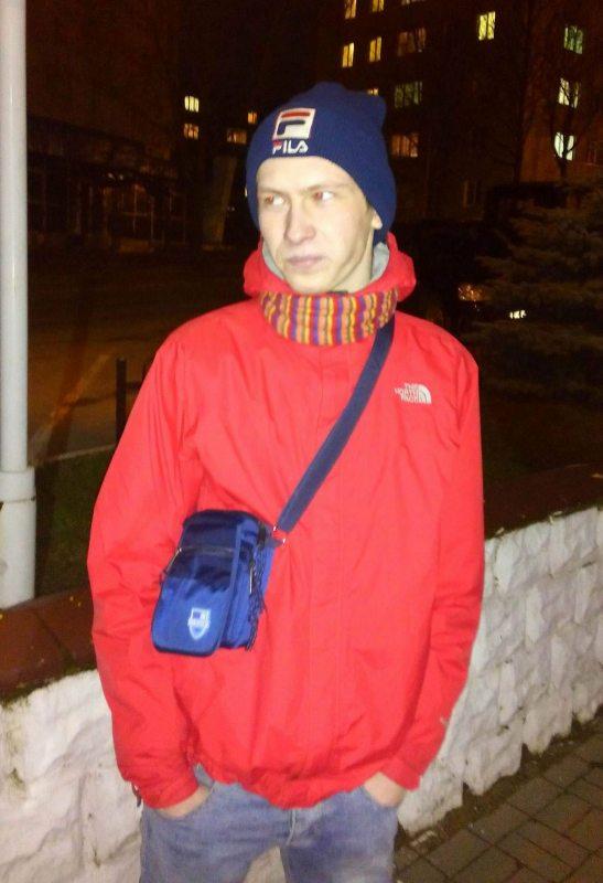 Ілля Бондар, адзін з затрыманых жыхароў Маладэчна