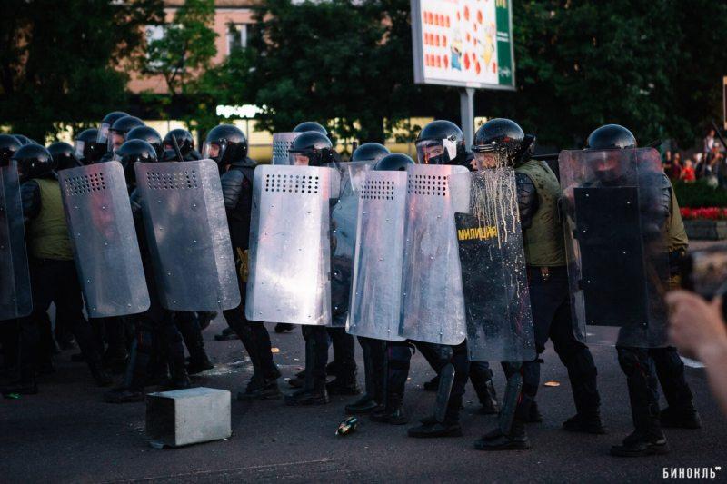 Брест 10 августа. Фото: binkl.by