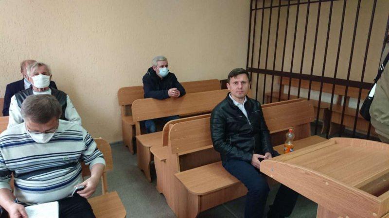 Правозащитник и журналист Александр Бураков перед началом суда. Фото: MSPRING.ONLINE