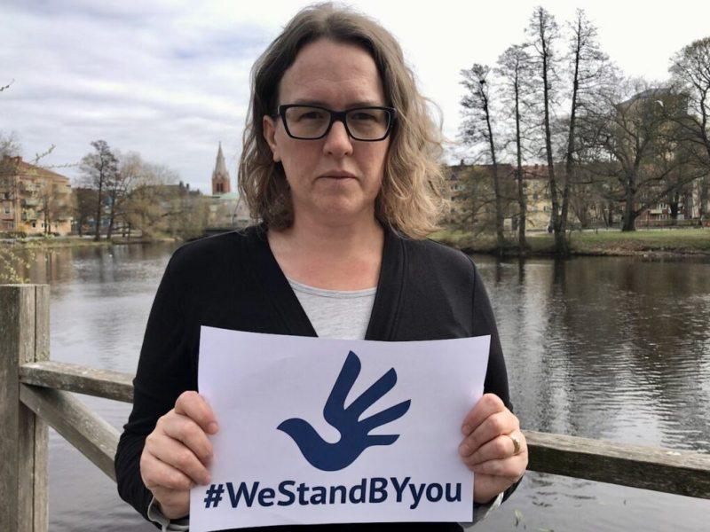 Camilla Hansén,member of the Swedish Parliament