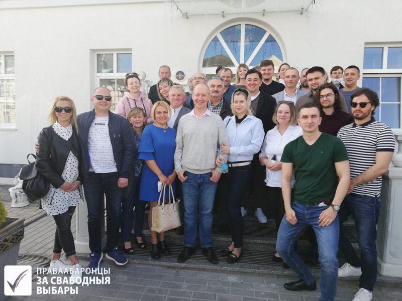 Встреча инициативной группы Валерия Цепкало в Гродно