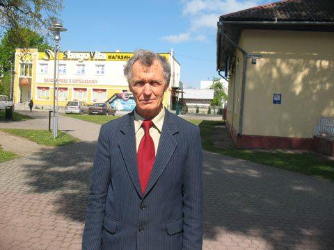 Актывіст з Баранавічаў Мікалай Чарнавус
