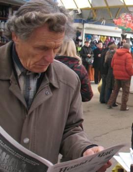 Прадпрымальнік і грамадскі актывіст з Баранавічаў Мікалай Чарнавус