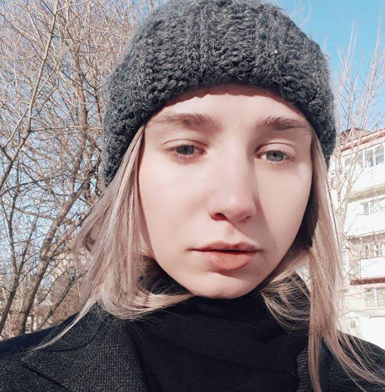 Журналістка Дар'я Чульцова. Фота з фэйсбука