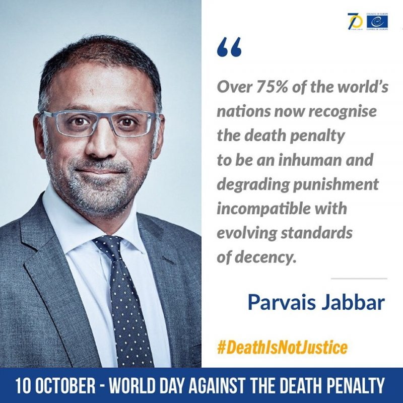 Parvais Jabbar, Executive director of the Death Penalty Project