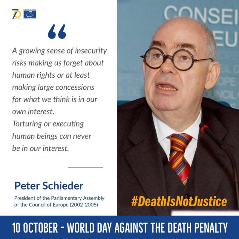 Peter Schieder, President of the Parliamentary Assembly of the Council of Europe (2002-2005)