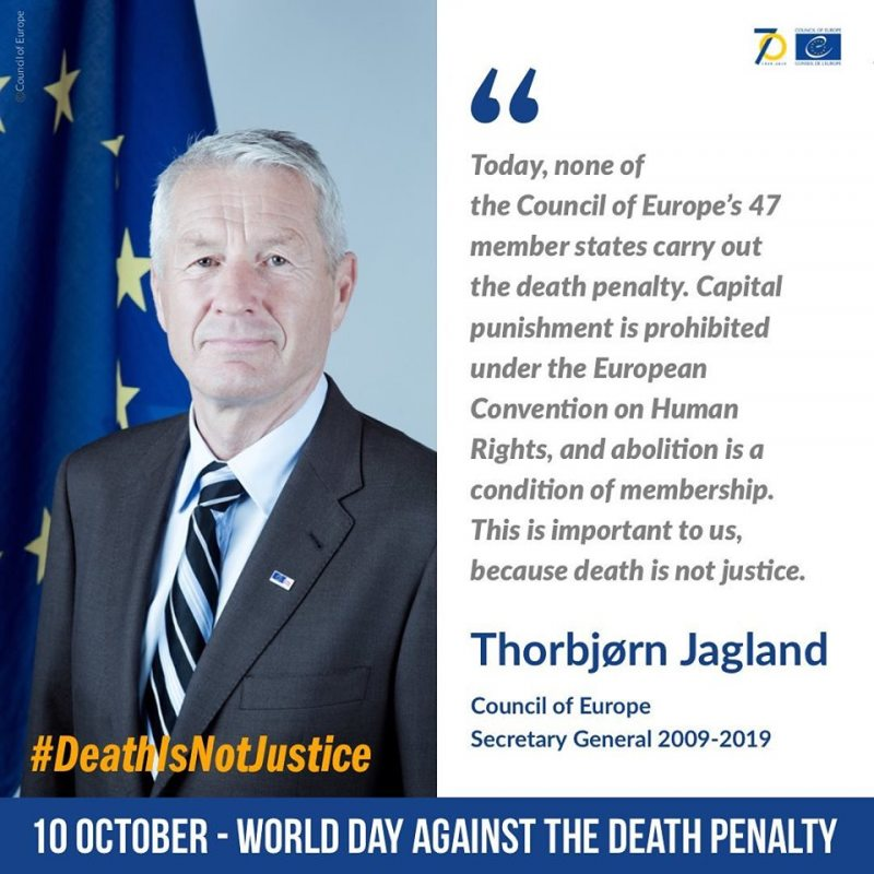 Thorbjørn Jagland, Secretary General of the Council of Europe (2009-2019)