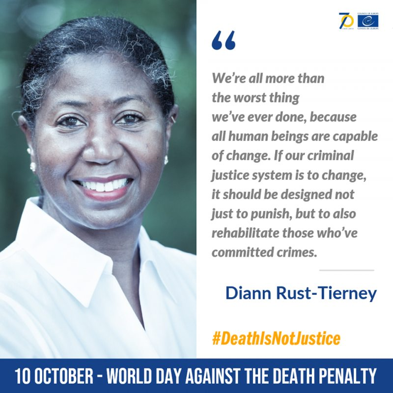 Diann Rust-Tierney, Executive Director of the National Coalition to Abolish the Death Penalty (United States of America)