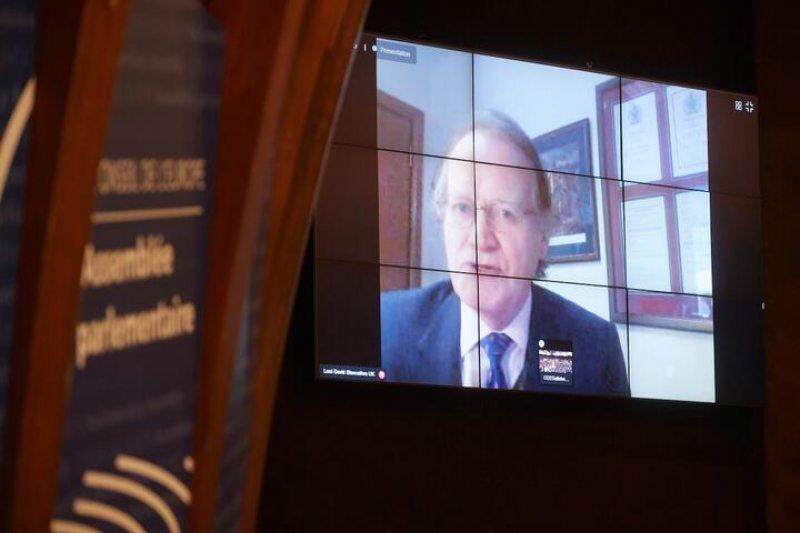 Член ПАСЕ, лорд Дэвид Бленкатра. Фото: assembly.coe.int