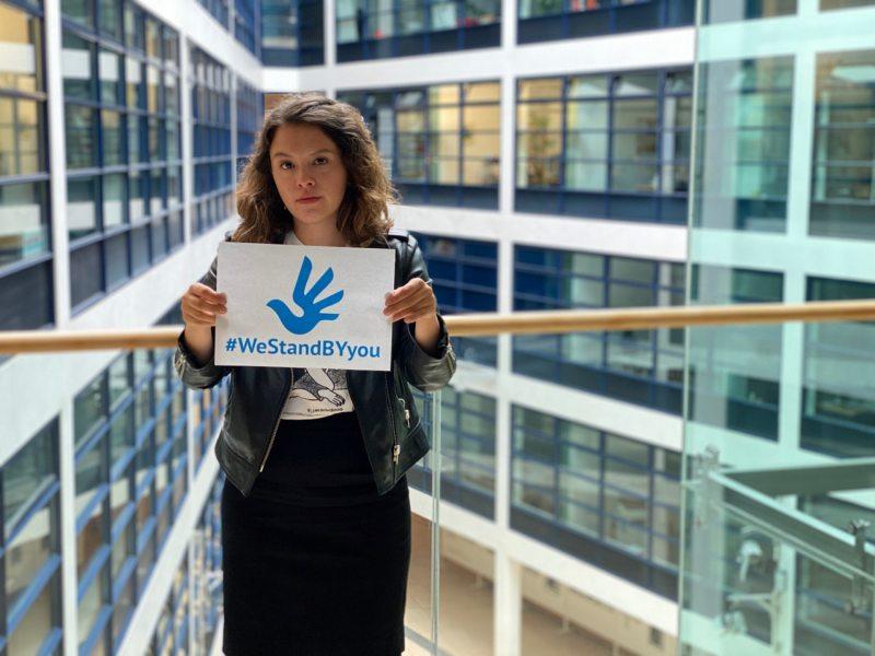 Delara Burkhardt, member of the SPD parliamentary group in the European Parliament