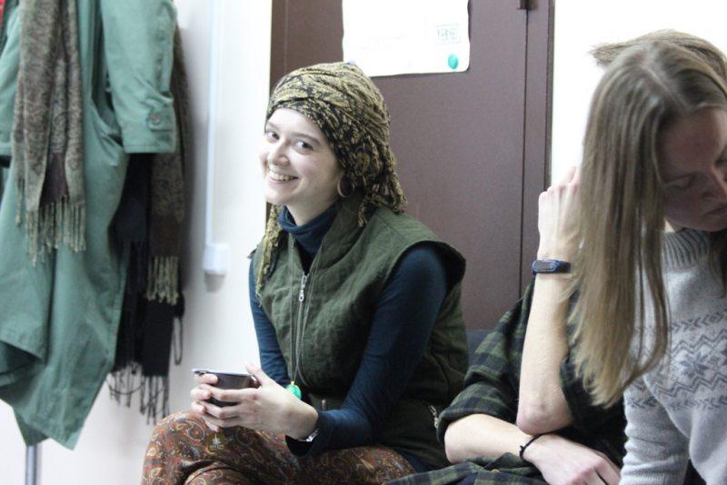 Кінапаказ на тэму смяротнага пакарання ў Гомелі. 5 кастрычніка 2017 г.