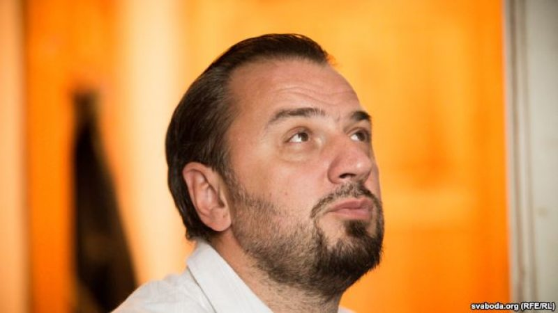 Сяргей Драздоўскі, юрыст і праваабаронца, сам змагаецца за свае правы. Фота