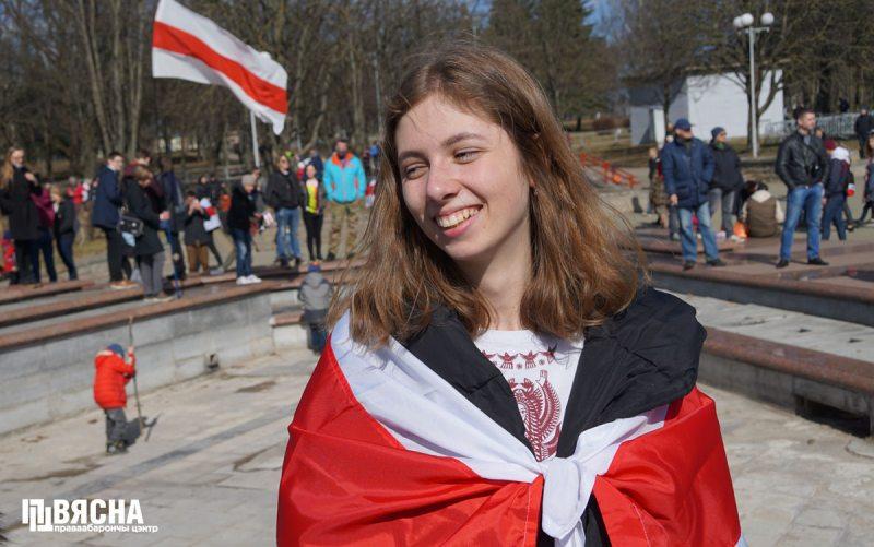 Дзень Волі ў Мінску 24 сакавіка 2019 года.