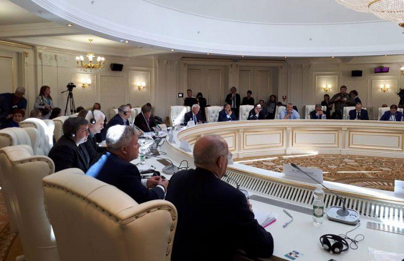 Параллельное мероприятие в рамках сессии ПА ОБСЕ 6 июля в Минске